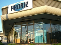 PROBIZ showroom in Adelaide
