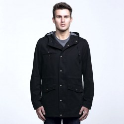 smpli-mens-black-heritage-twill-jacket-front